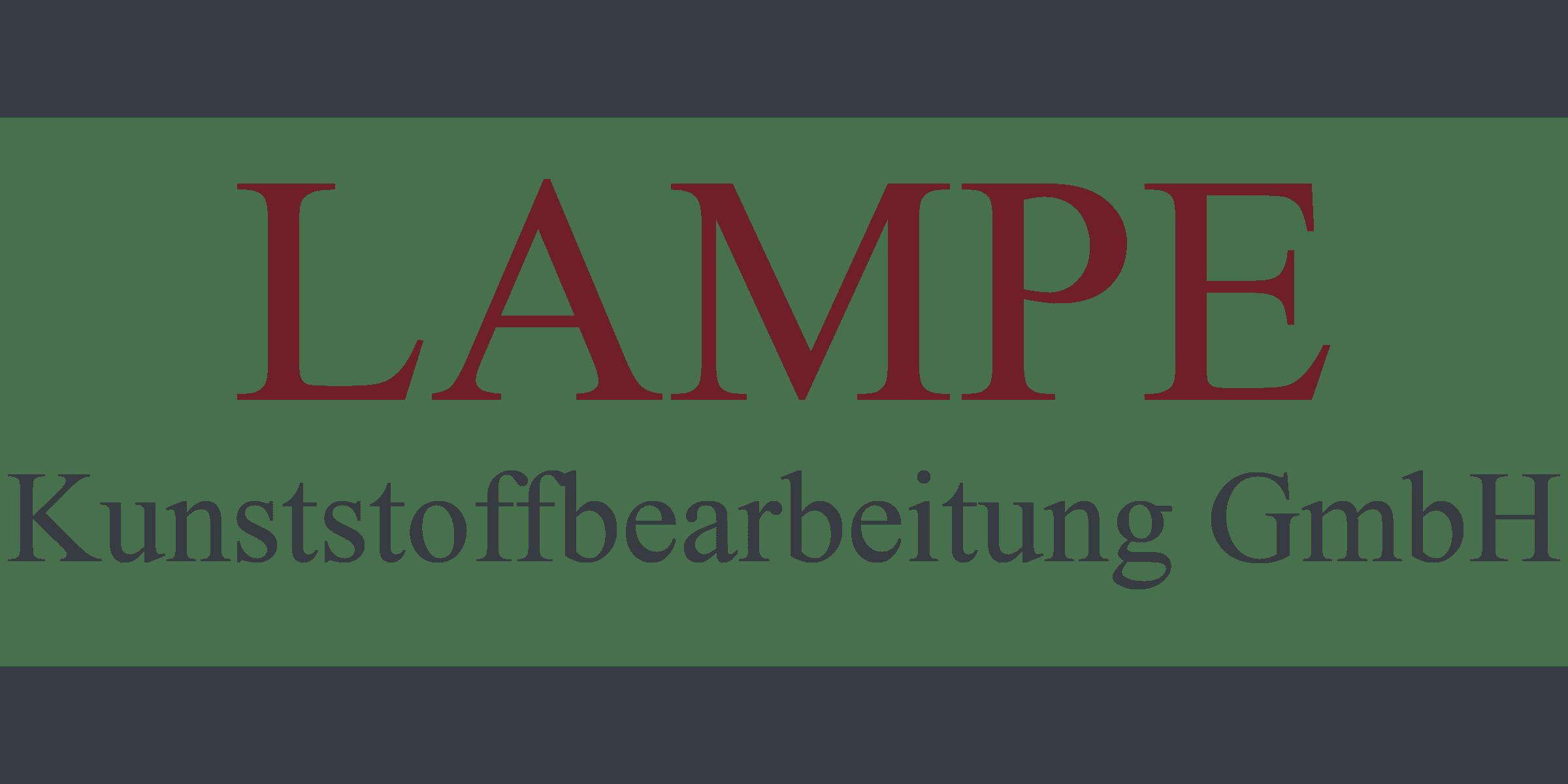 Lampe Kunststoffbearbeitung
